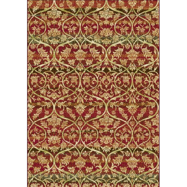Berwick Red Area Rug by World Menagerie