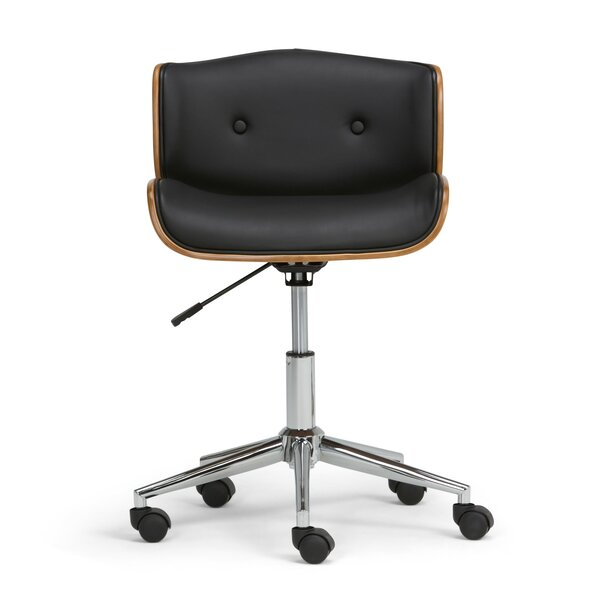 Dax Bentwood Low-Back Desk Chair by Simpli Home