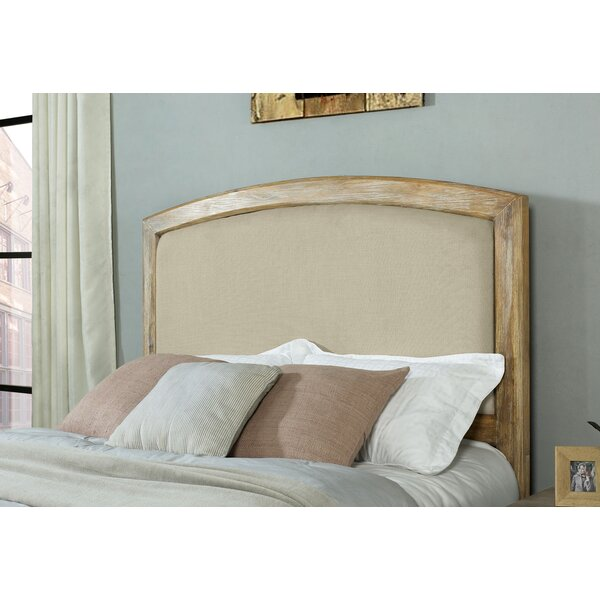Loggins Upholstered Panel Headboard by Loon Peak