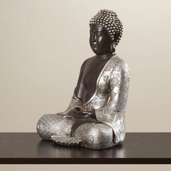 Resting Buddha Figurine by World Menagerie