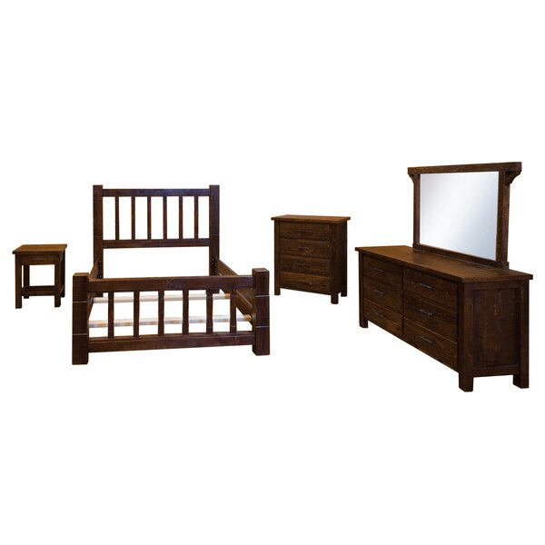 Bechtold Peg Standard Solid Wood 5 Piece Bedroom Set by Millwood Pines