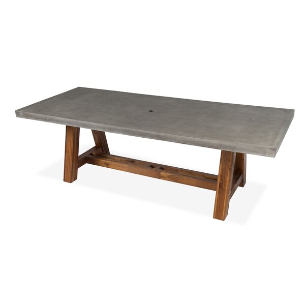 Colegrove Stone/Concrete Dining Table by Foundry Select