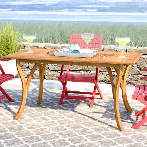 Coyne Dining Table by Beachcrest Home