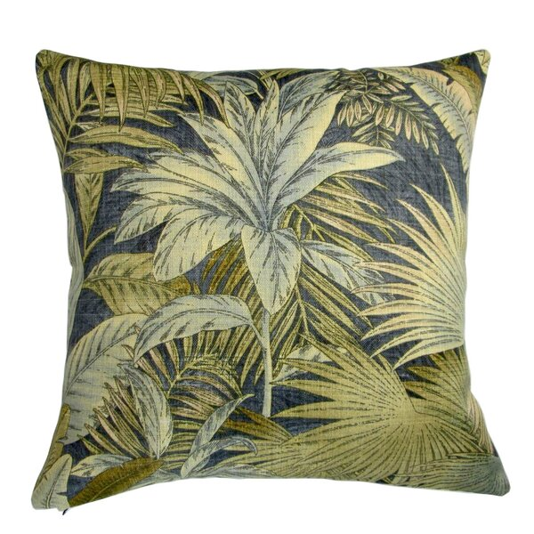 Lackey Palm Leaves Indoor/Outdoor Pillow Cover (Set of 2) by Bayou Breeze