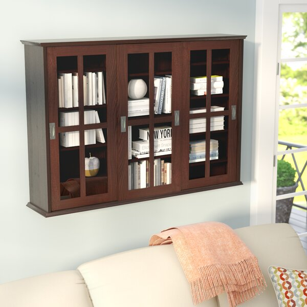 Jones Multimedia Wall Mounted Cabinet by Andover Mills