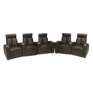 Ambassador Home Theater Lounger Row of 5  by Bass