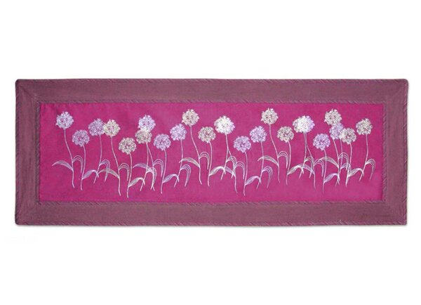 Floral Cotton Table Runner by Novica