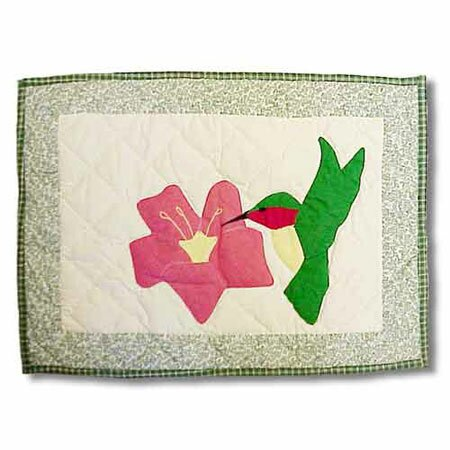 Hummingbird Placemat (Set of 4) by Patch Magic