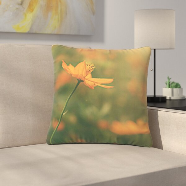 Angie Turner Cosmo Digital Floral Outdoor Throw Pillow by East Urban Home