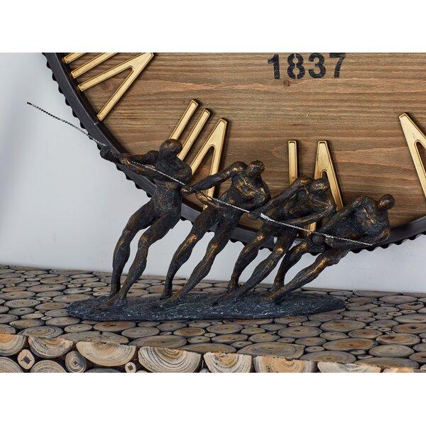 Polystone Metal Figurine by Cole & Grey