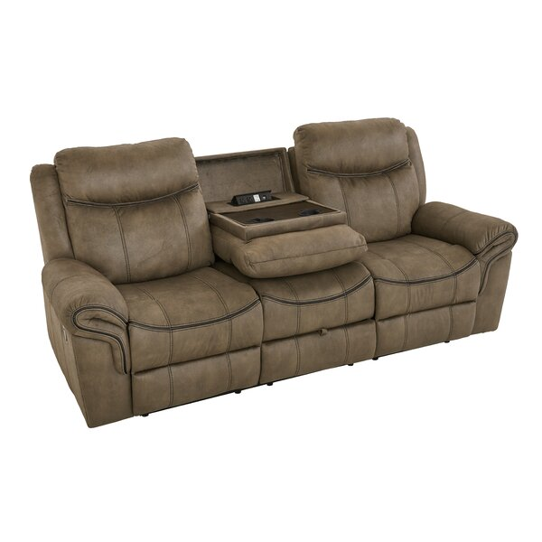 Roloff Reclining Sofa by Charlton Home