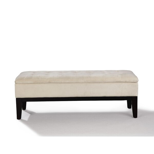 Rocha Upholstered Storage Bench by Wrought Studio