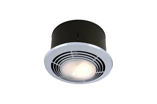70 CFM Bathroom Fan with Heater and Light by Broan
