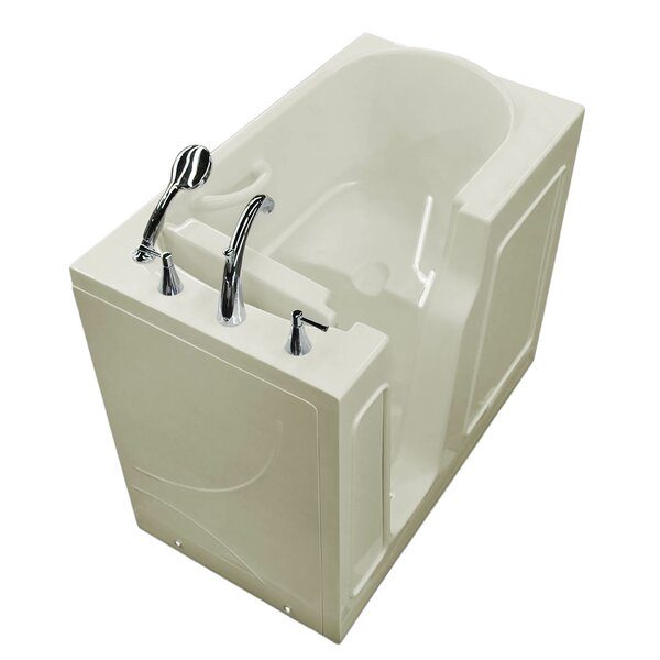Prairie 46 x 26 Walk In Soaking Bathtub by Therapeutic Tubs