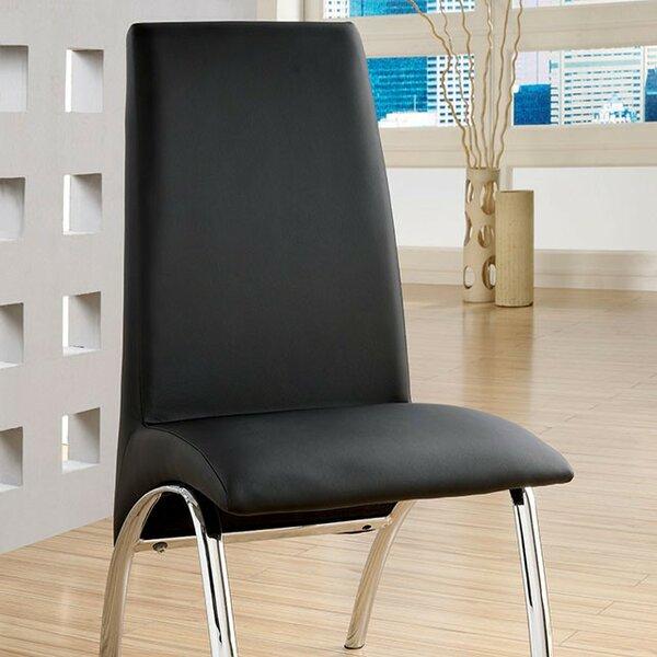 Rushing Upholstered Dining Chair (Set of 2) by Orren Ellis