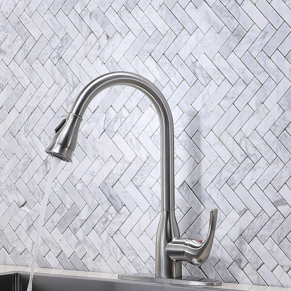 Pull Down Single Handle Kitchen Faucet by VCCUCINE VCCUCINE