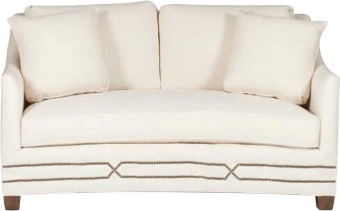 Amazing Baldwin Curved Loveseat By Gabby Wonderful Sofas Couches Bralicious Painted Fabric Chair Ideas Braliciousco