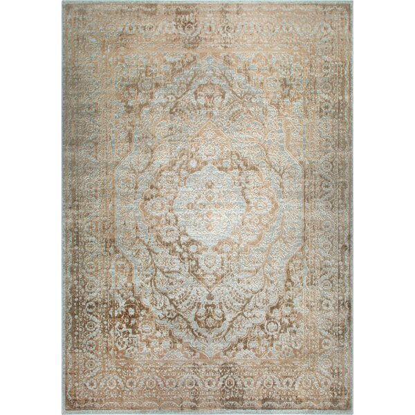 Kenmare Gray/Yellow Area Rug by Nicole Miller