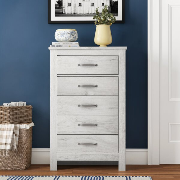Polegate 5 Drawer Chest by Three Posts Teen