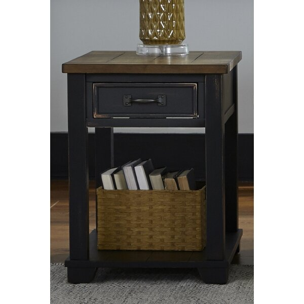 Kenneth End Table With Storage By Laurel Foundry Modern Farmhouse