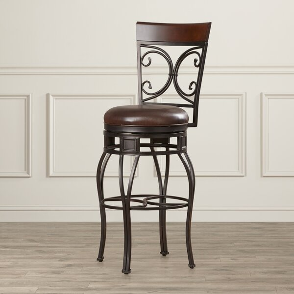Matherville 30 Swivel Bar Stool by Darby Home Co