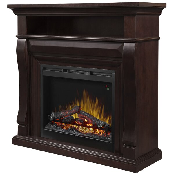 26 TV Stand and Mantel with Fireplace by Dimplex