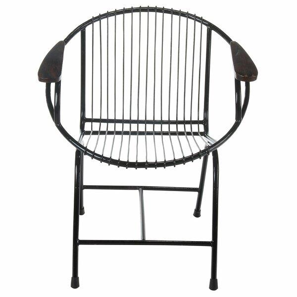Great Brayden Studio Borst Metal Wire Lounge Chair | Wayfair