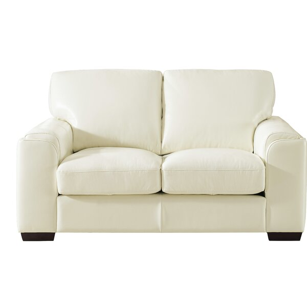 Explore The Wide Collection Of Hadley Craft Leather Loveseat by Orren Ellis by Orren Ellis
