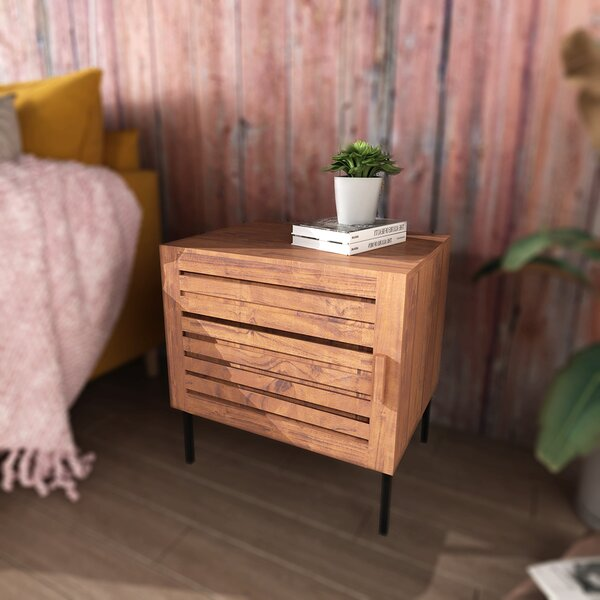 Rafe End Table With Storage By Foundry Select