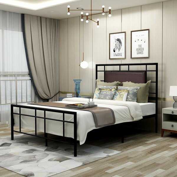 Weiss Platform Bed by 17 Stories