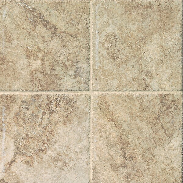 Forge 6.5 x 6.5 Porcelain Field Tile in Beige by Bedrosians