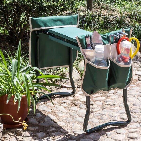 Standwood Metal Garden Stool by Rebrilliant