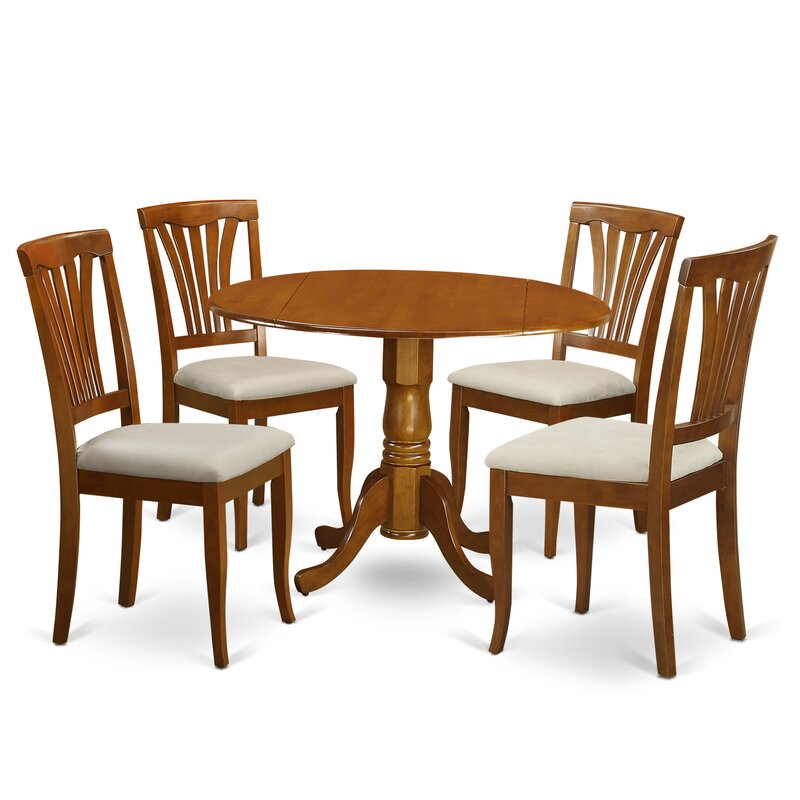 Charlton Home Gloucester 5 Piece Dining Set & Reviews