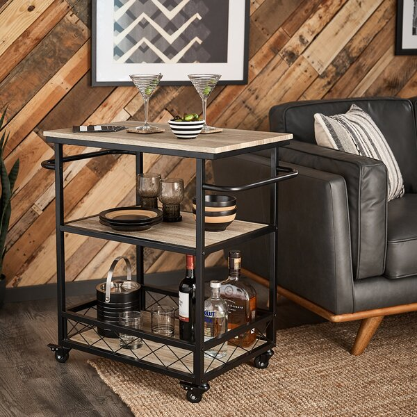 Melani Bar Cart By Williston Forge