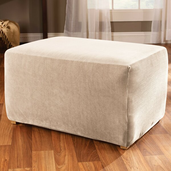 Stretch Stripe Ottoman Slipcover By Sure Fit Sure Fit