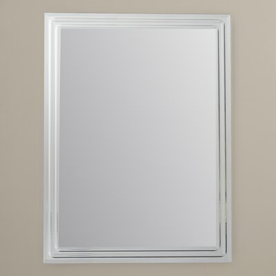 Tri Fold Wall Mounted Mirror Wayfair