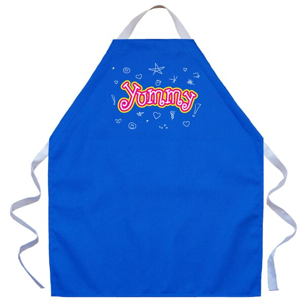 Yummy Apron in Royal by Attitude Aprons by L.A. Imprints