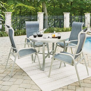 Dinan Outdoor 5 Piece Dining Set By Red Barrel Studio