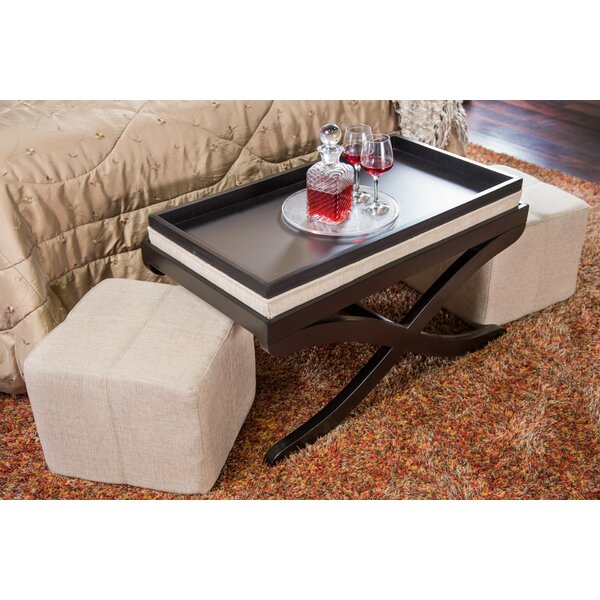 3 Piece Storage Ottoman Set by Hokku Designs