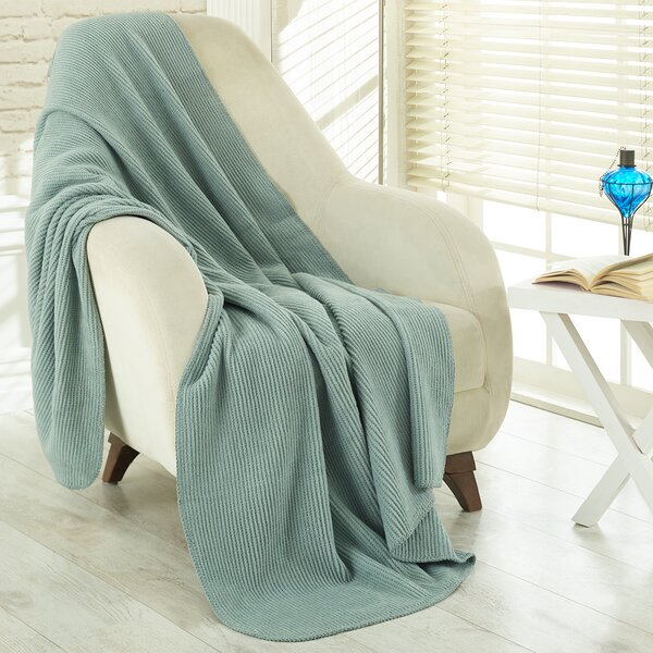 Mariano Soft Cozy Fleece Blanket by Charlton Home