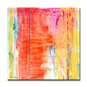 'Translucent Color' Oil Painting Print on Canvas by Wrought Studio