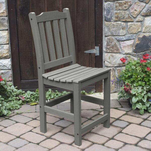 Amelia 24 Patio Bar Stool by Three Posts