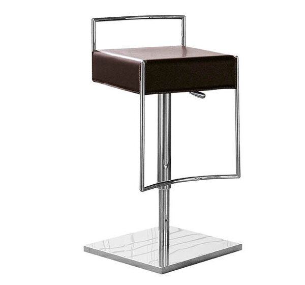 Mark Adjustable Height Swivel Bar Stool by Midj