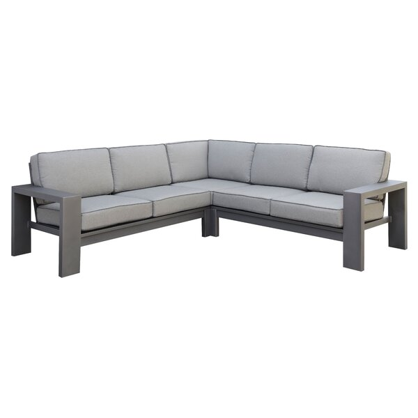 Sherrell Patio Sectional Sofa by Orren Ellis