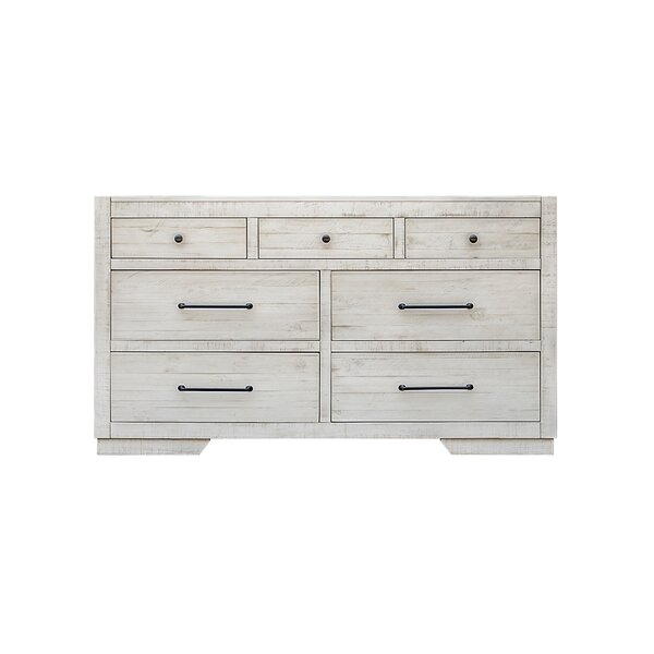 Cresent 7 Drawer Dresser by Highland Dunes