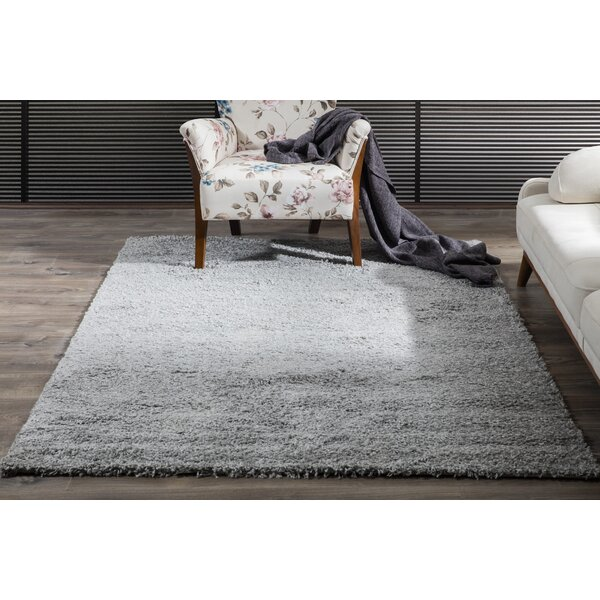 Gant Gray Area Rug by Perla Furniture by Wrought Studio