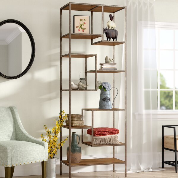 Riverdale Etagere Bookcase by Laurel Foundry Modern Farmhouse