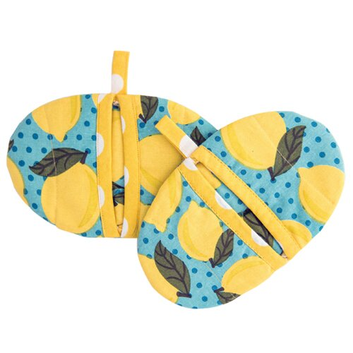Lemon Pot Pinchers (Set of 2) by Simply Whimsical