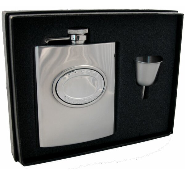 5 Stars Groomsman Flask Gift Set by Visol Products