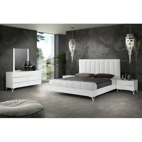 Kayna - Italian Platform 5 Piece Bedroom Set by Orren Ellis